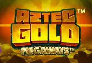 Aztec Gold Extra Gold Megaways logo achtergrond