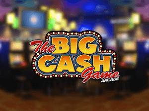 Big Cash Game Arcade logo achtergrond