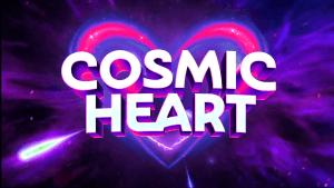 Cosmic Heart logo achtergrond