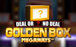 Deal Or No Deal Golden Box Megaways logo achtergrond