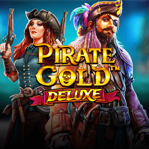 Pirate Gold Deluxe logo achtergrond