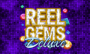 Reel Gems Deluxe logo achtergrond