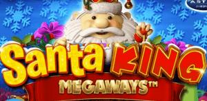 Santa King Megaways logo achtergrond