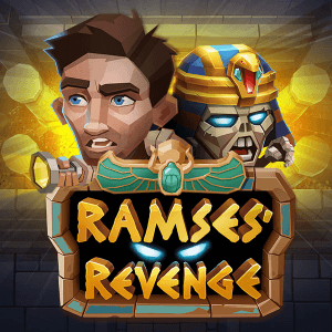 Ramses' Revenge logo achtergrond