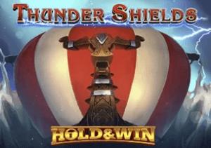Thunder Shields logo achtergrond