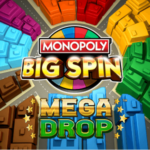 Monopoly Big Spin logo achtergrond