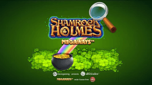 Shamrock Holmes Megaways logo review