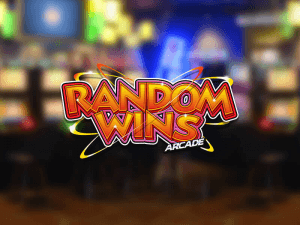 Random Wins Arcade side logo review
