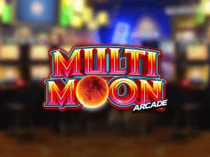 Multi Moon Arcade logo achtergrond