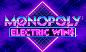 Monopoly Electric Wins logo achtergrond