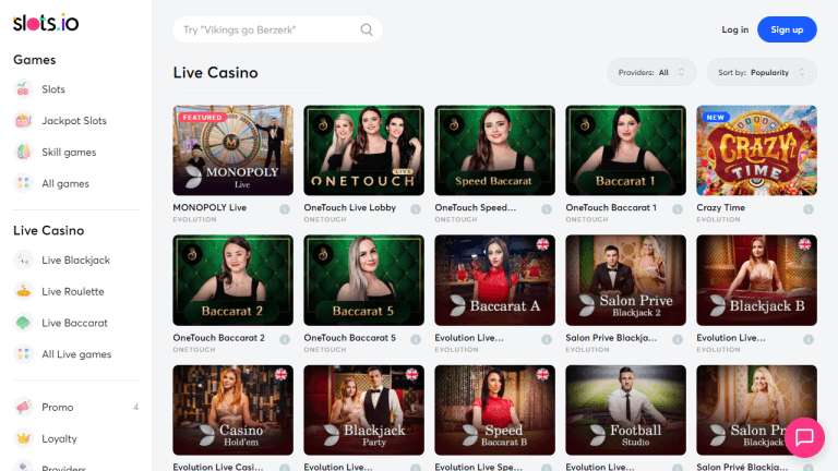 Slots.io Casino Screenshot 3