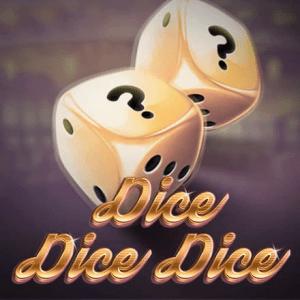 Dice Dice Dice logo achtergrond