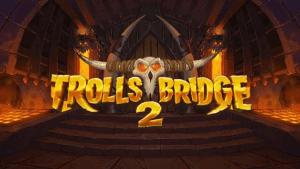 Trolls Bridge 2 logo achtergrond