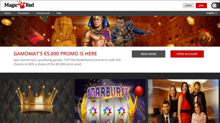 Magic Red Casino Screenshot 2