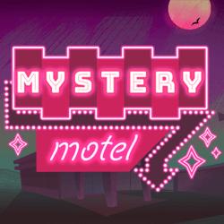Mystery Motel logo achtergrond