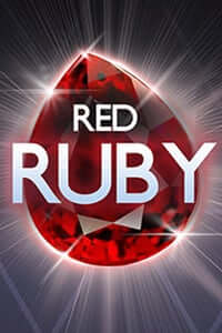 Red Ruby logo achtergrond