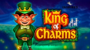 King Of Charms logo achtergrond