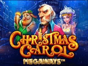 Christmas Carol Megaways logo achtergrond