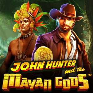 John Hunter and The Mayan Gods logo achtergrond