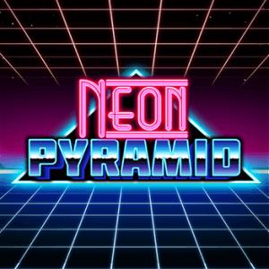 Neon Pyramid logo achtergrond
