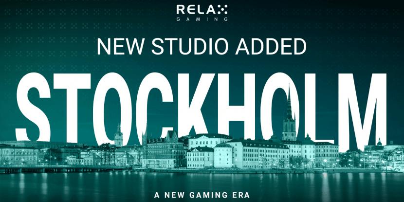 Relax Gaming opent nieuwe studio in Stockholm