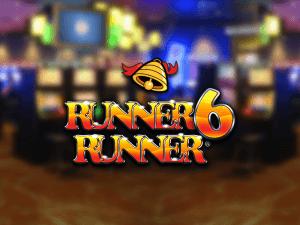 Runner 6 Runner logo achtergrond