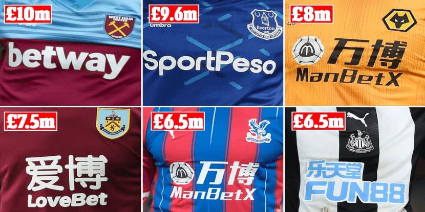 Mogelijk verbod op gokreclame in Premier League op komst