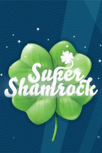 Super Shamrock logo achtergrond