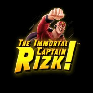 The Immortal Captain Rizk! logo achtergrond