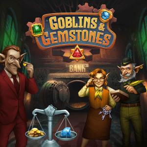 Goblins & Gemstones logo achtergrond