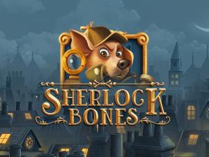 Sherlock Bones logo achtergrond