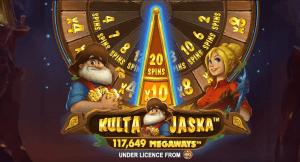 Kulta Jaska Megaways logo achtergrond