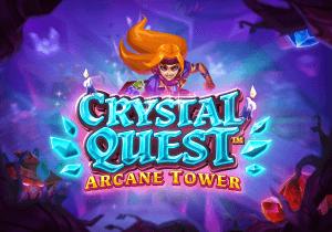 Crystal Quest: Arcane Tower logo achtergrond