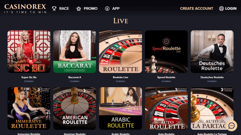 CasinoRex Screenshot 3
