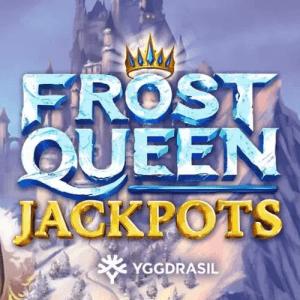 Frost Queen Jackpots logo achtergrond