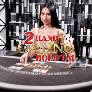 Two Hand Casino Hold'em logo achtergrond