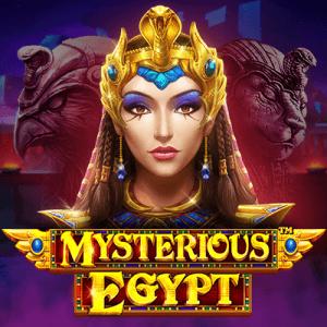 Mysterious Egypt logo achtergrond