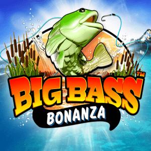 Big Bass Bonanza logo achtergrond
