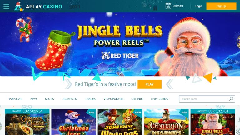 APlay Casino Screenshot 1