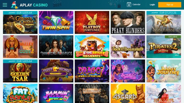 APlay Casino Screenshot 2