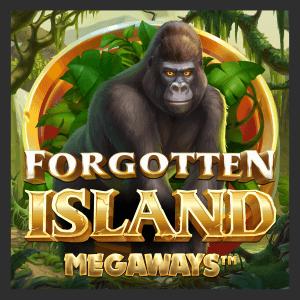 Forgotten Island Megaways logo achtergrond