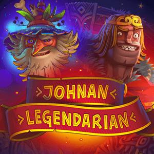Johnan Legendarian logo achtergrond
