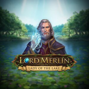 Lord Merlin and The Lady Of The Lake logo achtergrond