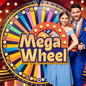 Mega Wheel logo achtergrond