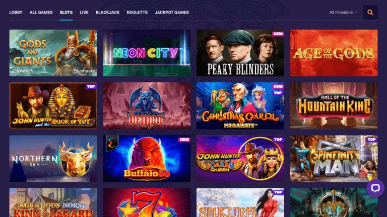 Samosa Casino Screenshot 2