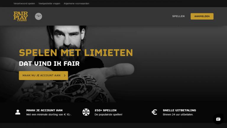 Fair Play Casino Screenshot 1