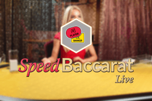 Speed Baccarat logo review