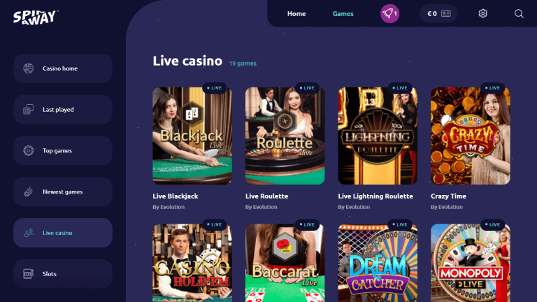 Spin Away Casino Screenshot 3