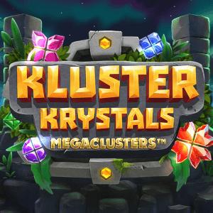Kluster Krystals Megaclusters logo achtergrond