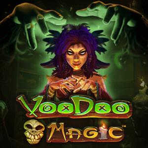 Voodoo Magic logo achtergrond